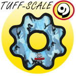 Tuffy Ultimate Gear Ring Soft Dog Toy
