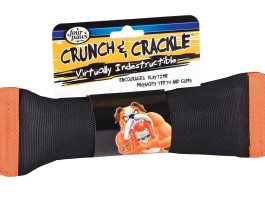 Crunch and Crackle Dog Chew Toy