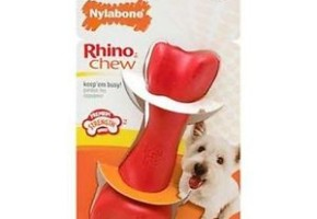 Rhino Chew Dog Toy by Nylabone